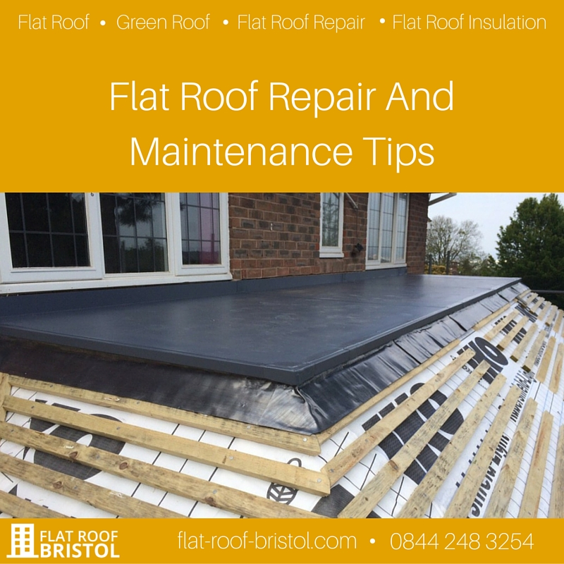 Flat Roof Repair And Maintenance Tips