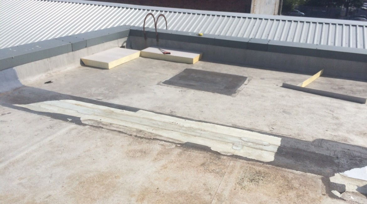 flat roofing progression