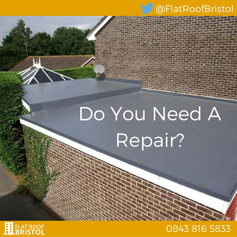 flat roof repair company